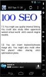 100 SEO Tips 2014 screenshot 2/3