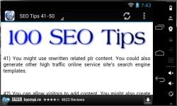 100 SEO Tips 2014 screenshot 3/3