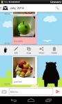 Kumamon Balloon Memo screenshot 4/5