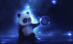 Cute Panda Images Wallpaper screenshot 3/6