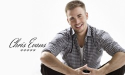 Charming Chris Evans HD wallpapers screenshot 1/6
