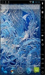 Gorgeous Ice Flowers Live Wallpaper screenshot 2/2