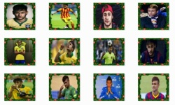 Neymar Football Player Onet Classic Game screenshot 1/3