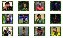 Neymar Football Player Onet Classic Game screenshot 2/3