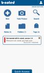 b-noted homescreen widget screenshot 1/2