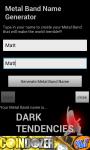 Metal Band Name Generator screenshot 2/2