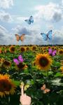 Sunflowers and butterflies screenshot 3/3