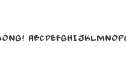 Hip Hop Font - Rooted screenshot 3/5