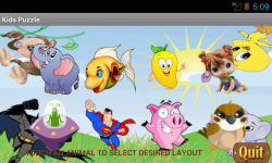 Kids ABC Shape Puzzle screenshot 2/5