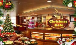Free Hidden Object Games - Christmas Cafe screenshot 1/4