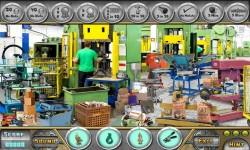 Free Hidden Object Game - The Factory screenshot 3/4