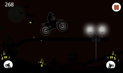 Free Moto Racer Halloween Town screenshot 4/6