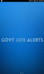 Daily Govt Job Alerts screenshot 1/2