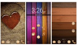 Wooden Theme screenshot 1/3