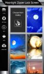 Moonlight Zipper Lock Screen screenshot 4/6