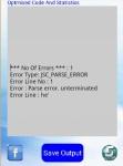 Javascript Optimiser And Compiler screenshot 3/3