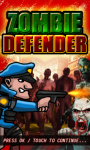 Zombie Defender screenshot 1/4