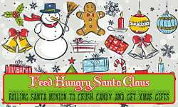 Feed Hungry Fat Santa Claus - Rolling Santa Minion screenshot 5/6