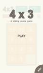 4x3 Sliding puzzle game screenshot 1/4