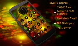Royal HD Go Apex Nova ADW Next Launcher Theme screenshot 1/1