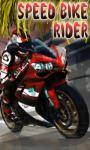 Speed Bike Rider Free screenshot 2/3