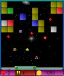 Arkanoid in Space screenshot 1/1
