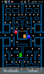 Pac Man Game Live Wallpaper screenshot 1/2