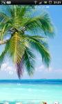 Tropical Palm Beach Live Wallpaper screenshot 3/6