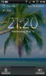 Tropical Palm Beach Live Wallpaper screenshot 4/6