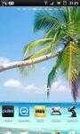 Tropical Palm Beach Live Wallpaper screenshot 5/6