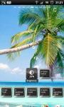 Tropical Palm Beach Live Wallpaper screenshot 6/6