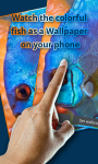 Touch Red Fish Blue Fish LWP free screenshot 1/4