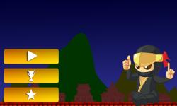 Ninja Roof Jump Endless Jump screenshot 1/4