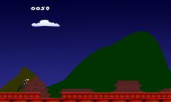 Ninja Roof Jump Endless Jump screenshot 2/4