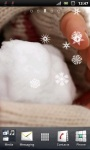 Handful of Winter Snow Live Wallpaper screenshot 3/3