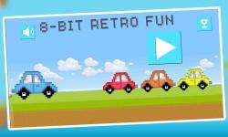 Jump Car Retro : 8bit Arcade Challenge screenshot 1/5