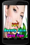 101 Beauty Skin Care Tips screenshot 1/5