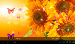 3D Sunflower Wallpapers screenshot 2/5