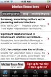 InfectiousDiseaseNews screenshot 1/1