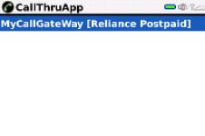 CallThruApp Lite screenshot 1/1