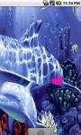 Cute Underwater Dolphins Live Wallpaper screenshot 3/4
