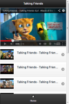 Talking Friends Videos screenshot 1/2