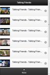 Talking Friends Videos screenshot 2/2