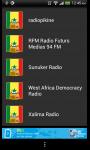 Senegalese Live Streaming Radio screenshot 1/3
