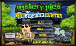 Free Hidden Object Games - The Diamond Hunter screenshot 1/4