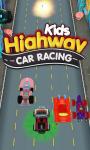 Kids Highway Car Racing screenshot 3/6
