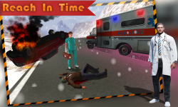 Ambulance Simulator Rescue screenshot 2/4