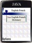 Sun English-French Dictionary screenshot 1/1