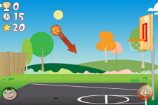 Basketball Trick Shots Lite screenshot 3/6