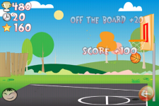 Basketball Trick Shots Lite screenshot 4/6